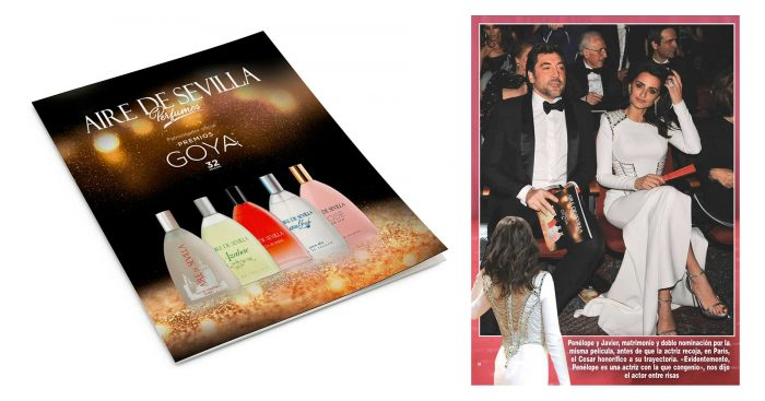 Perfumes Aire de Sevilla - Premiso Goya